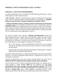 riassunto del volume 1 del mandrioli. diritto processuale civile. aggiornato con le ultime modifiche del 2017.