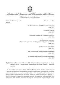 Circolare ministerale 8 del 6 Marzo 2013