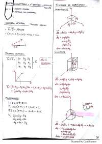 Resumo 1° Estágio Eletromagnetismo UFCG - Adolfo Herbster