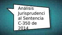 Análisis de Sentencia