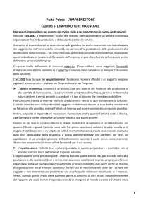 """Riassunto """"Manuale di Diritto Commerciale"""" di Vincenzo Buonocore, Tredicesima edizione (2016)"""