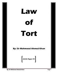 """tort law.....erived from a Latin word 'Tortus' which means 'twisted' or 'cooked act'. ... Tort is a common law term and its equivalent in Civil Law is """"Delict""""."""