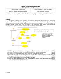 exam quesion on artificial inteligence