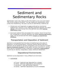 Sedimentary rocks petrology for Indian students