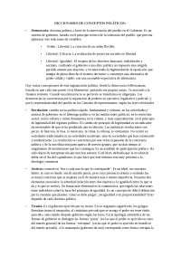 DICCIONARIO DE CONCEPTOS POLITICOS
