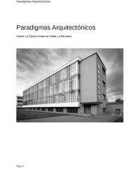Paradigmas Arquitectonicos