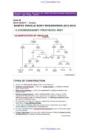 Vehicle body engineering notes unit 3