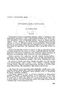 Jovan Trifunoski, Ovčepoljska kotlina