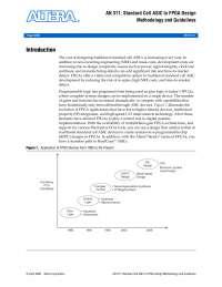 Altera Guidelines: ASIC to FPGA
