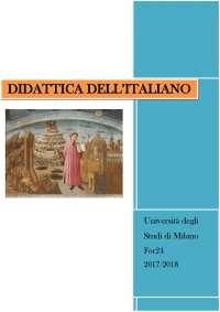 Dispensa Didattica dell'Italiano