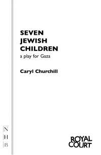 Seven Jewish Children, Exercises for Literature