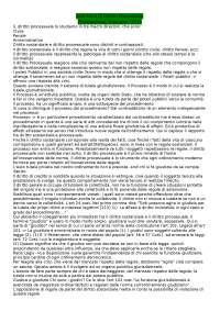 ISTITUZIONI DI DIRITTO PROCESSUALE- PROF. ZUMPANO UNIPI - Dilpa