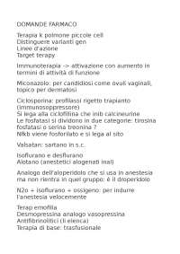 DOMANDE CARDIOLOGIA (Medicina e Chirurgia Catania)