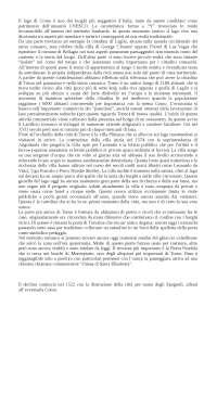 Relazione sui paesi del lago di Como