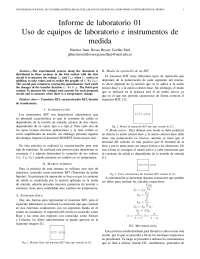 informe practica de lab