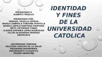 UNIVERSIDADES CATOLICAS