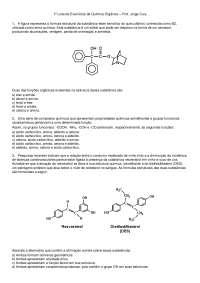 Lista de Exercícios Química Organica