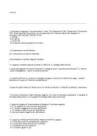 appunti esame tecnica bancaria con esercizi (2 parte)
