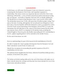 European Union Law Notes