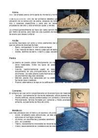 Informe de Arena tecnologia de materiales