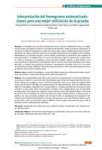 Interpretacion de Hemograma Automatizado