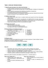 Tema 2: Anàlisis transaccional