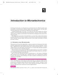 Fundamentals of Microelectronics 1st edition book