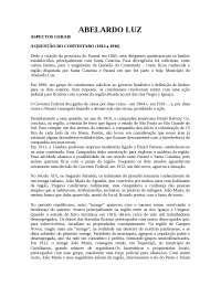 HISTÓRICO ABELARDO LUZ - SC