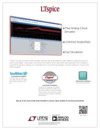 LT spice software for circuit simulation