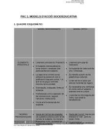 PAC 1 Models d'acció socioeducativa