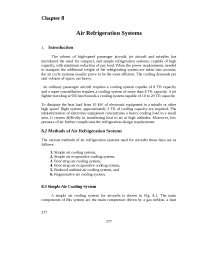 aircraft refrigiration