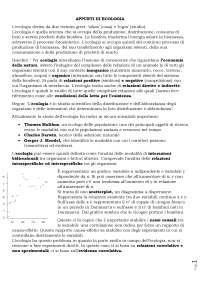 Appunti di Ecologia per il cdL Scienze Biologiche (prof. Rubolini)