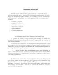 Ordenamiento jurídico penal - Evolución histórica