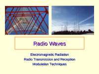 THIS DOCUMENT SHOW HOW RADIO WAVES ARE GENERATED FROM A WIRE CARRYING CURRENT