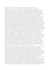 Esercizio per ammissione all'esame di arte contemporanea