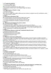 Test di autovalutazione Diritto Tributario Università Niccolò Cusano