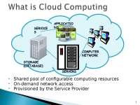 Cloud Computing about introduction advantages and disadvantages