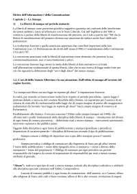 diritto dell'informazione e della comunicazione Caretti