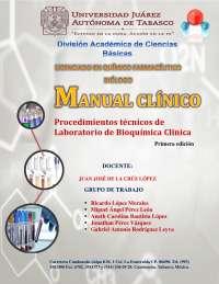 Manual de Prácticas de Laboratorio de Bioquímica Clínica