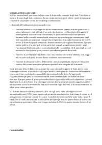 Riassunto Libro Conforti sul diritto internazione con integrazione appunti
