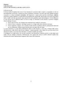 Guido Benvenuti - per esame di progettazione educativa e metodologia della ricerca pedagogica