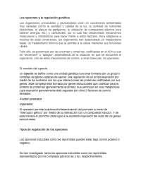 Examen de laboratorio, investigacion sobre Operones