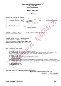 esquemas penal 2 temas 1 al 15