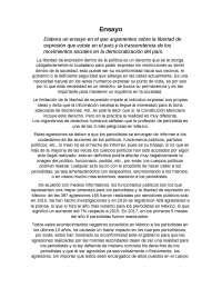Libertad de expresión en México