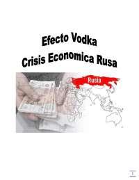 Análisis del Efecto Vodka