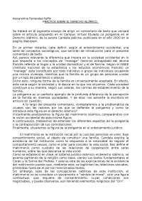 practica de sistemas jurídicos contemporáneo (derecho islamico)