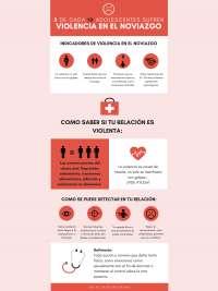 Infografia violencia en noviazgo