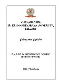 Mathematics for bsc Computer science