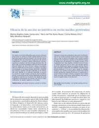 Artículo Neonatos Terapia Ocupacional en Pediatría