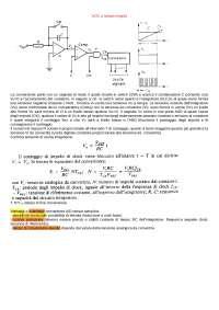Converitori Analogici Digitali (ADC) a rampa singola e doppia